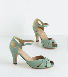 Great wedding shoes. Heels but low enough to still be comfortable. Found on #modcloth http://www.shareasale.com/r.cfm?u=928218&b=275535&m=30632&afftrack=&urllink=www%2Eforyourparty%2Ecom%2Fproducts%2Feditor%2F8726