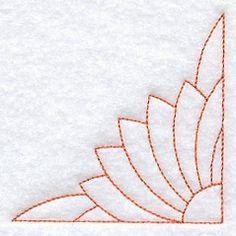 Sunflower 1 Quilting Quarter Square (Double Run) Quilting Stencils, Quilting Templates, Longarm Quilting, Free Motion Quilting, Hand Quilting, Quilt Patterns, Stitching Patterns, Machine Embroidery Quilts, Machine Quilting Designs