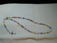 New Kids Pretty Pastels Rosary by LoveandReloved on Etsy