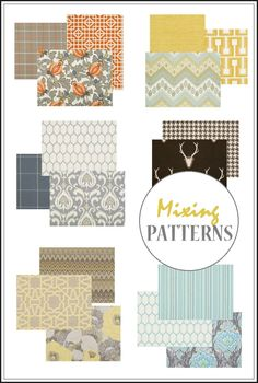 21 New Ideas For Mix And Match Bedroom Furniture Textiles - Furniture Home Decor Mixing Patterns Decor, Pattern Mixing, Fabric Patterns, Print Patterns, Quilting Patterns, Living Room Decor Colors, Fabric Combinations, Traditional Interior, Elements Of Design