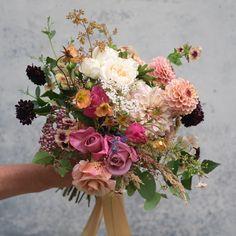 Summer bouquet of Irish-grown seasonal flowers by The Irish Flower Farmer Flower Farmer, Irish Wedding, Seasonal Flowers, Summer Wedding, Wedding Flowers, Floral Wreath, Bouquet, Wreaths, Seasons