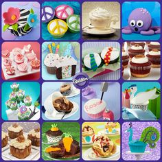 Love cupcakes? Wilton has hundreds of cupcake decorating ideas and recipes to make the most smile-worthy treats around!