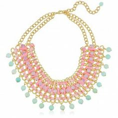 Pastel Braided Necklace $24.95