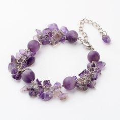 Natural Gemstone Chip Beads Bracelets from Pandahall.com