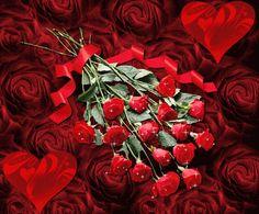 Ramo de rosas rojas San Valentin