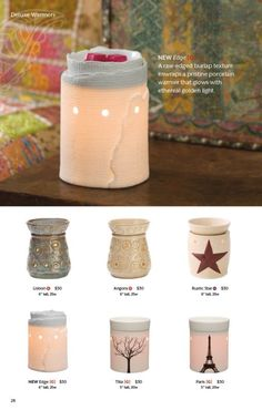 We Make Perfect scents! With each Scentsy bar you can mix and match and make your own favorite scent. Be creative! Here is a few that I think you may enjoy. Scentsy Fragrances flameless wax warmers are a great alternative to candles the perfect gift idea! Scentsy website: https://Meganlambert.scentsy.ca
