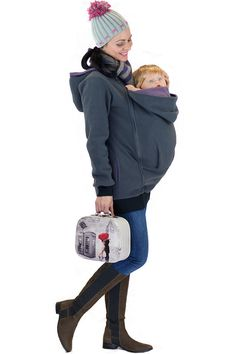 4in1 Baby carrying sweatshirt multifunctional by GoFutureWithLove