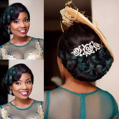« Thanks for being my first bride of the year 2016 darling God bless your home hun Hair by Makeup by… Black Wedding Hairstyles, Prom Hairstyles For Long Hair, Bride Hairstyles, Short Hairstyle, Prom Hair Updo Elegant, Bridesmaid Hair Half Up, Bridesmaid Dresses, Hair Up Or Down, Natural Hair Styles