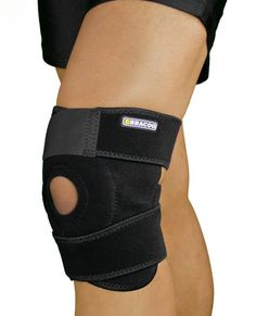 Amazon.com: Bracoo Breathable Neoprene Knee Support, One Size, Black,Manufactured by: Yasco: Health & Personal Care