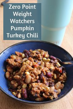 Weight Watchers Pumpkin Turkey Chili