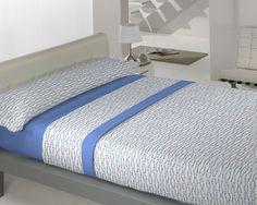 Coralina Dolce modelo Roma en azul de Llar Textil