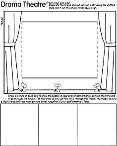 Drama Theatre coloring page by Crayola (FREE)