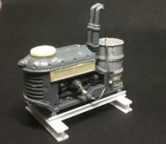 Junktown WIP - Post apocalyptic improvised generator