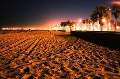 Summer Night, Manhattan Beach, California