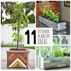11 Pretty Outdoor Planters for Summer