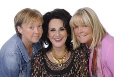 BBC's Birds of a Feather goes on stage with all 3 of its leading ladies: Pauline Quirke, Linda Robson and Lesley Joseph.