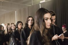 Behind the scenes at Target's fall fashion presentation