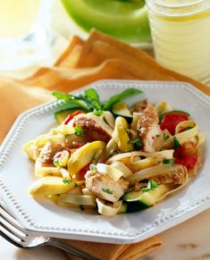Pasta Salad, Food And Drink, Ethnic Recipes, Sauces, Chicken Schnitzel, Meat, Quick Recipes, Cooking Recipes, Fish