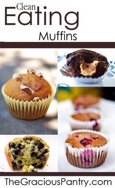 Enjoying a delicious treat doesn't have to feel guilty. Enjoy these clean & healthy muffin recipes.