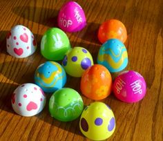 Use Easter eggs to practice matching