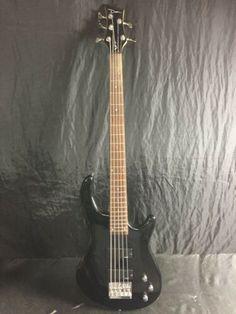 [SALE!] $149.99 DEAN BASS GUITAR 5 STRING (BLACK) Dean Bass, Bass Guitars For Sale, Black, Black People
