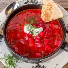 Country Style Borscht - Art and the Kitchen Beet Borscht, Borscht Recipe, Borscht Soup, Ukrainian Recipes, Russian Recipes, Ukrainian Food, Fall Recipes, Soup Recipes, Cooking Recipes