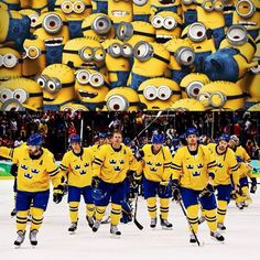 When you find it difficult to take swedish ice hokey team seriously Ice Hockey Teams, Hockey Games, Hockey Stuff, Finnish Memes, Bee Do, New York Rangers, Pittsburgh Penguins, Funny Jokes, Hilarious