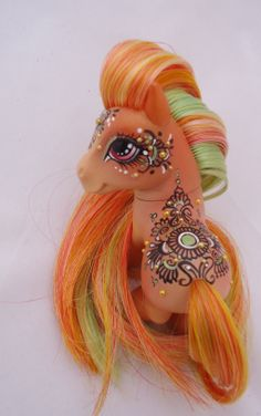 My little pony custom  henna Nidra by AmbarJulieta.deviantart.com on @deviantART