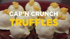 Cap'n Crunch truffles! So easy!