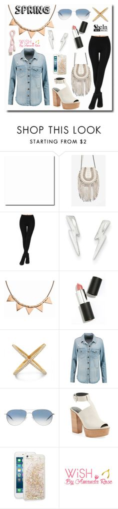 """""""Ready or not, Spring is here!"""" by mlgjewelry on Polyvore featuring Aimee Kestenberg, ban.do, Amanda Rose Collection, Sigma Beauty, Current/Elliott, Oliver Peoples, Rebecca Minkoff and Wish by Amanda Rose"""