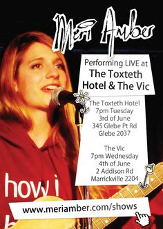 http://www.meriamber.com/blog/2014/05/upcoming-performances-toxteth-vic/ Meri Amber at The Toxteth and The Vic poster