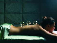 Relax... (cupping) Wellness Center, Health Center, Spa Massage, Massage Therapy, Rainforest Shower, Chinese Philosophy, Girls Getaway, Plunge Pool, Pressure Points