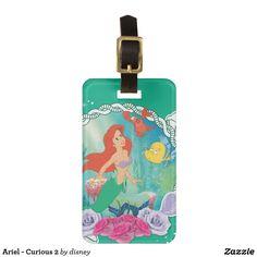 Ariel - Curious 2 Luggage Tag