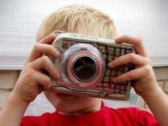Càmara de fotos amb uns ouera