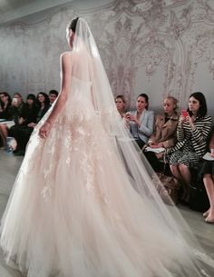 Monique Lhuillier: Fall 2015 Bridal Collection - The Frosted Petticoat