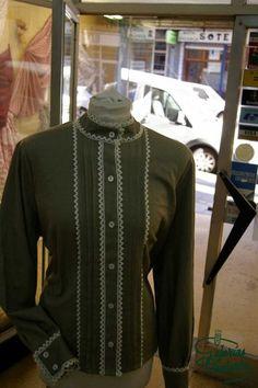 Caseras High Neck Dress, Jackets, Tenerife, Dresses, Regional, Fashion, Folklore, Shandy, Petticoats