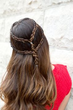 3 Ways To Style Summer's Hottest 'Do #refinery29  http://www.refinery29.com/braided-styles#slide8  Old World Princess  Just because you want to let you hair down, doesn't mean you can't add a little romantic whimsy to the mix.