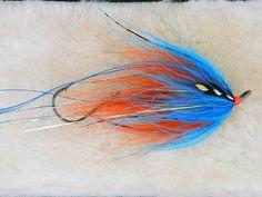 Hoh Bo Spey Intruder - Orange and Silver Doctor Blue