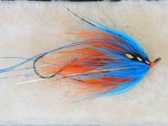Hoh Bo Spey Intruder - Orange and Silver Doctor Blue