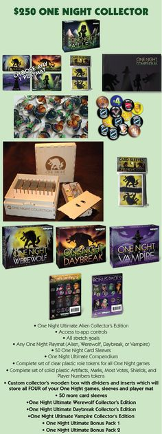The far-out sequel to the mega-popular One Night Ultimate Werewolf. This time…