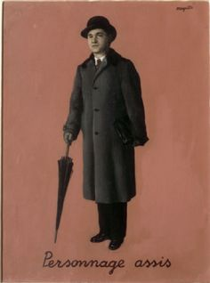 Alexandros Iolas by Magritte
