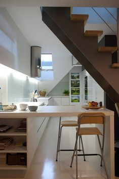 Modern Two-Level Apartment in Poland Abounding in Creativity