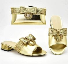 (1) African Wedding Italian Shoes and Bag Set Ladies' Shoes with Bridal Heels, Pump Types, Italian Shoes, Turban Style, Party Dresses For Women, Party Shoes, Ladies Party, Women's Pumps, Traditional Outfits