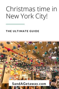 Looking to spend your Christmas in New York City?  Click here for the ultimate guide to NYC at Christmastime.  Between Christmas markets, The Rockefeller Tree,  Christmas decorated restaurants and bars, Radio City Music Hall, The Rockettes, Central Park, Columbus Circle, Bryant Park and more.  You will definitely see everything NYC has to offer at Christmas.