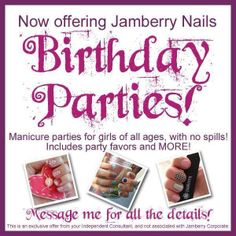 Mommy and Me, Slumber Parties, I can work with you to create the perfect theme… Jamberry Nails Tips, Jamberry Party, Jamberry Nail Wraps, Party In A Box, For Your Party, Love Nails, Fun Nails, Pretty Nails, Slumber Parties