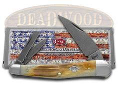 1 of Only 500 MadeThis classic American Case Seahorse Whittler is about  4 inches long (folded/fixed) and comes complete with a Limited Lifetime Manufacturer Warranty.  It's handcrafted in the U.S.A. and stamped with pattern number 6355WH DAM.  The