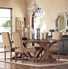 Farmhouse table. HomeDecorators.com
