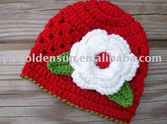 Sweet with the big white flower. Knitting For Charity, Baby Hats Knitting, Knitted Hats, Crochet Hats, Big White Flowers, Cute Hats, Crochet Patterns, Beanie, Nicu