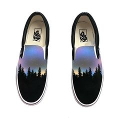 Custom Hand Painted Galaxy Slip On Vans - Nebula Outter Space Vans Shoes - - Custom Hand Painted Galaxy Slip On Vans – Nebula Outter Space Vans Shoes Source by Vans Slip On Shoes, Custom Vans Shoes, Custom Painted Shoes, Painted Vans, Painted Canvas Shoes, Painted Sneakers, Hand Painted Shoes, Me Too Shoes, Hippie Kunst
