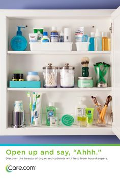 Great organized cabinets, tips for cleaning and organizing medicine cabinets